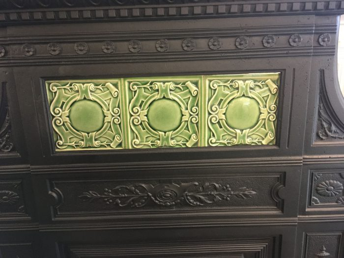 Very unusual Victorian fireplace Tiles