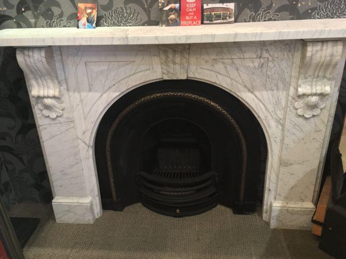 Victorian Keystone Carrara Mable Front