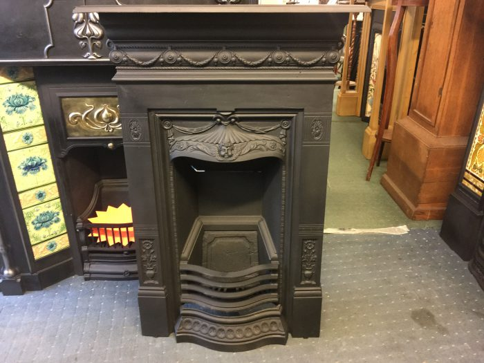 Rare BICLAM Victorian Fireplace