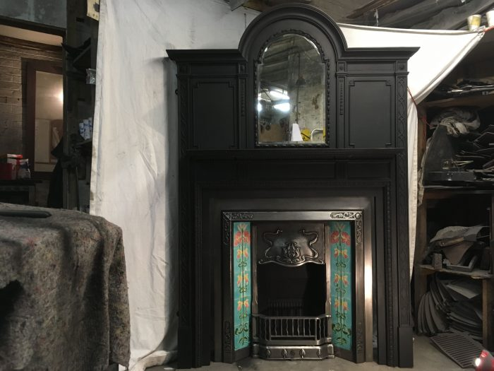 Large Cast Iron Surround.