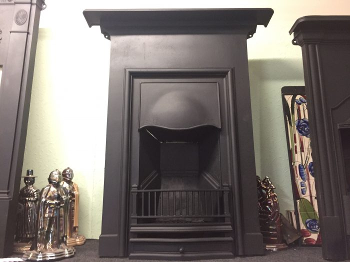 Edwardian Cast Iron Fireplace 1900 front view